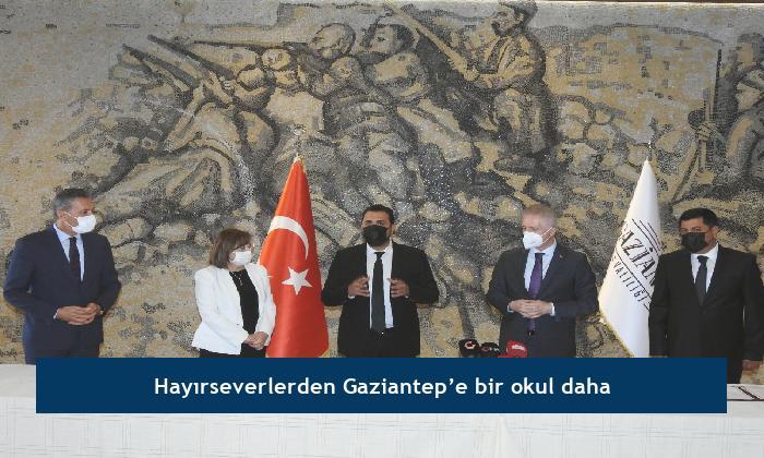 Hayırseverlerden Gaziantep'e bir okul daha