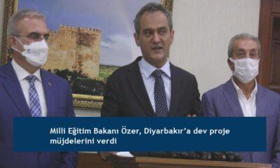 Milli Eğitim Bakanı Özer, Diyarbakır'a dev proje müjdelerini verdi