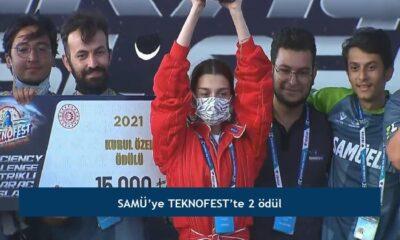 SAMÜ'ye TEKNOFEST'te 2 ödül