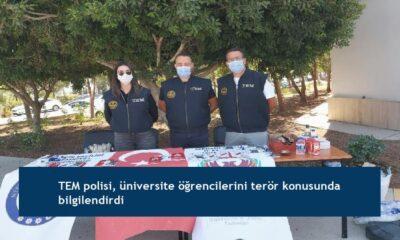 TEM polisi, üniversite öğrencilerini terör konusunda bilgilendirdi