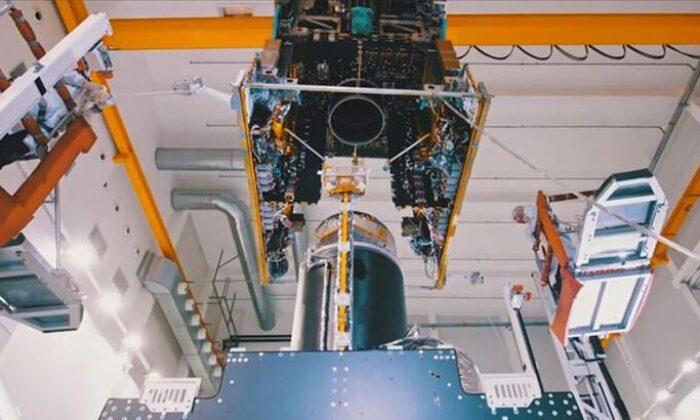 Türkiye dünyanın en büyük uydu fuarında görücüye yeni ürünler çıkarttı