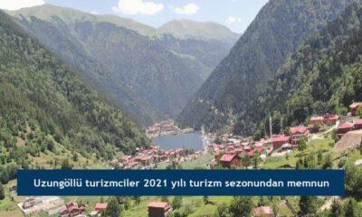 Uzungöllü turizmciler 2021 yılı turizm sezonundan memnun