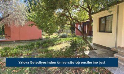 Yalova Belediyesinden üniversite öğrencilerine jest