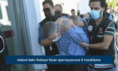 Adana'daki ihaleye fesat operasyonuna 8 tutuklama