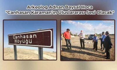"""""""Canhasan Karaman'ın Uluslararası Sesi Olacak"""""""