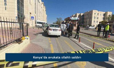 Konya'da avukata silahlı saldırı