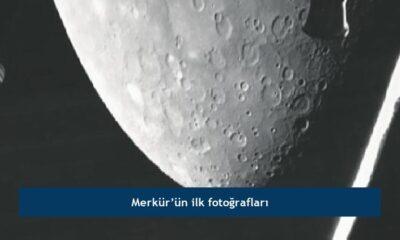 Merkür'ün ilk fotoğrafları