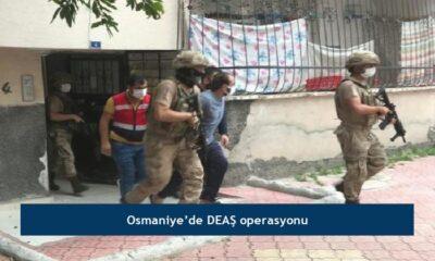 Osmaniye'de DEAŞ operasyonu
