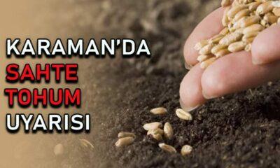 Karaman'da sahte tohum uyarısı