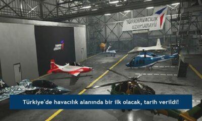 Türkiye'de havacılık alanında bir ilk olacak, tarih verildi!