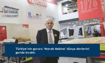 Türkiye'nin gururu 'Mızrak Makine' dünya devlerini geride bıraktı